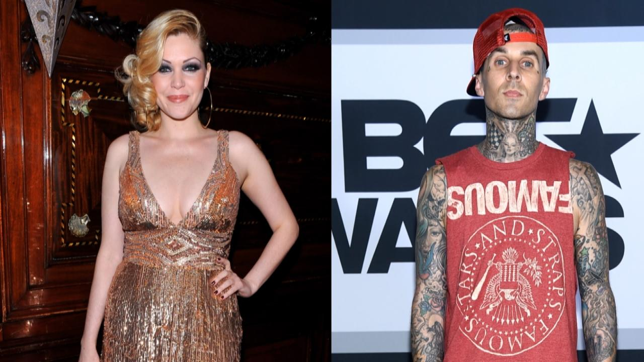 Exclusive Shanna Moakler Shares Her Unique Co Paing Strategy With Ex Husband Travis Barker Entertainment Tonight