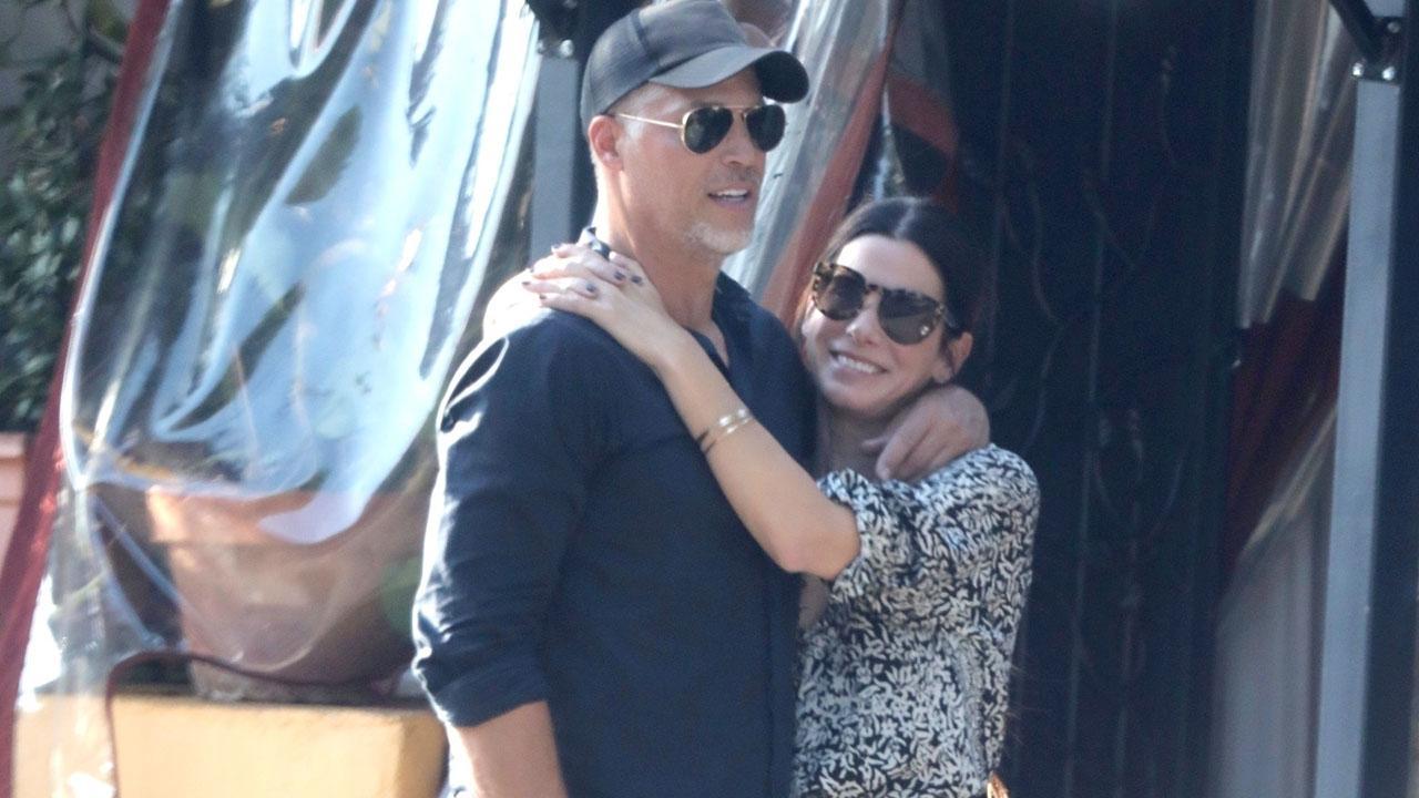 Sandra Bullock and Boyfriend Bryan Randall Show Sweet PDA at
