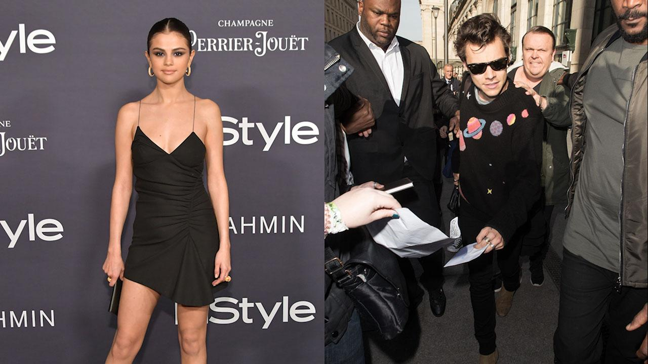 736de44c21d7 Harry Styles' Galactic Sweater, Selena Gomez's Perfect LBD & More Best  Dressed Stars of the Week