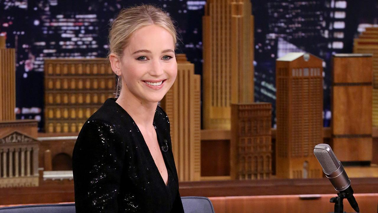 f9355fa3f01 Jennifer Lawrence Leads 'Fly, Eagles, Fly' Chant on a Plane Ahead of Super  Bowl: Watch!