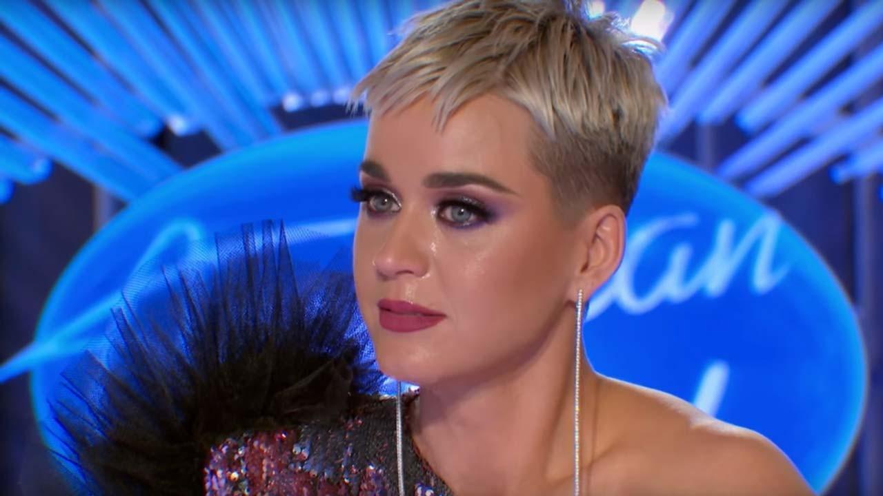 Katy Perry Suffers Wardrobe Malfunction on 'American Idol