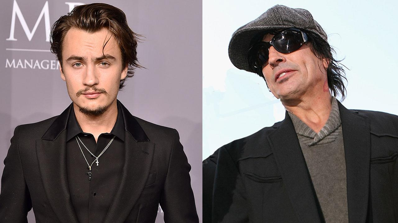7b3cbf0c1d8 Tommy Lee Shares Picture Of Bloodied Face, Alleges 21-Year-Old Son ...