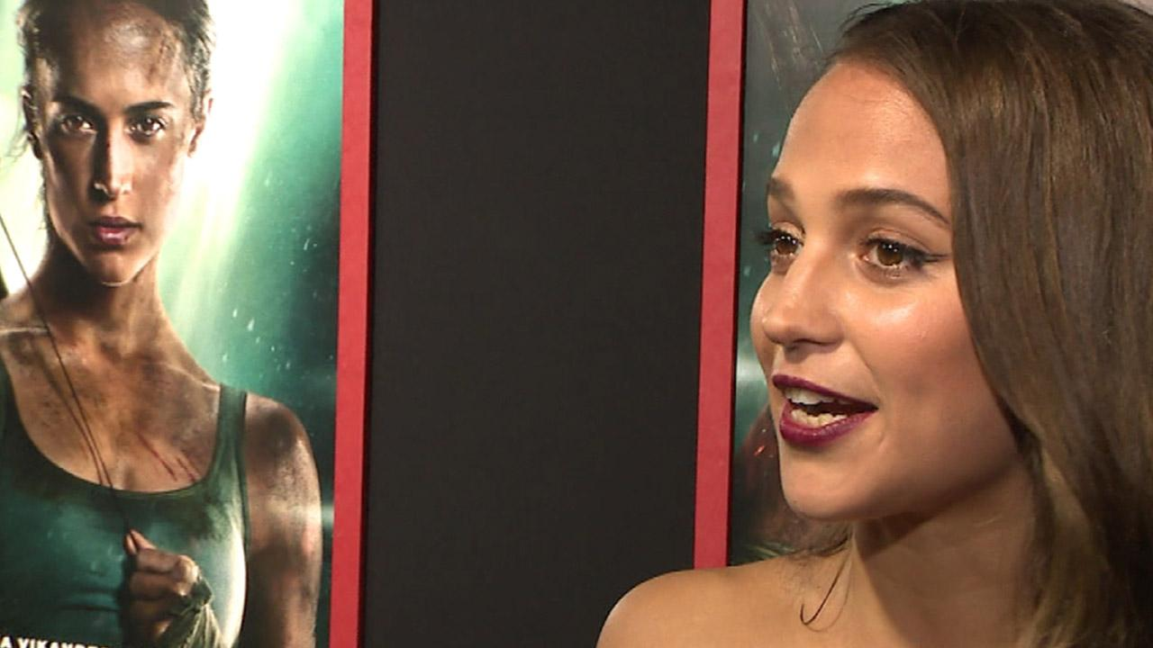 Alicia Vikander Says She Wants to Show Young Women That