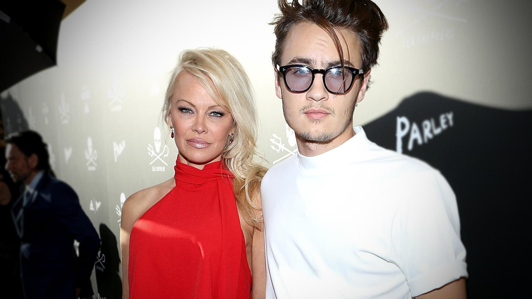 1a2696291 Pamela Anderson and Brandon Lee Are Showing a 'United Front' Against Tommy  Lee (Exclusive)