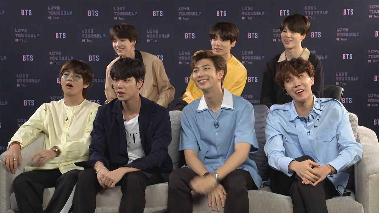 BTS Answers Fans' Questions -- and Reveals One of the 'Best