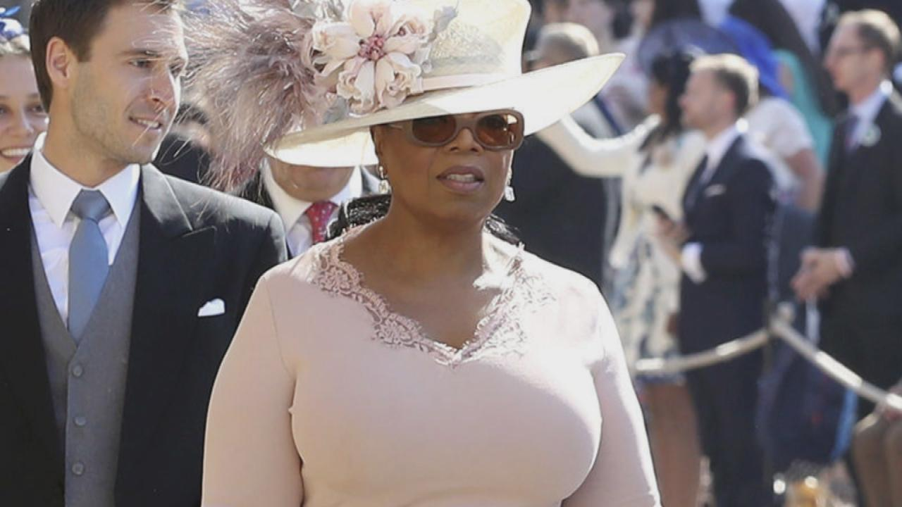 Oprah At Prince Harry Wedding.Oprah Winfrey Reveals The Huge Royal Gaffe She Nearly Made At Prince
