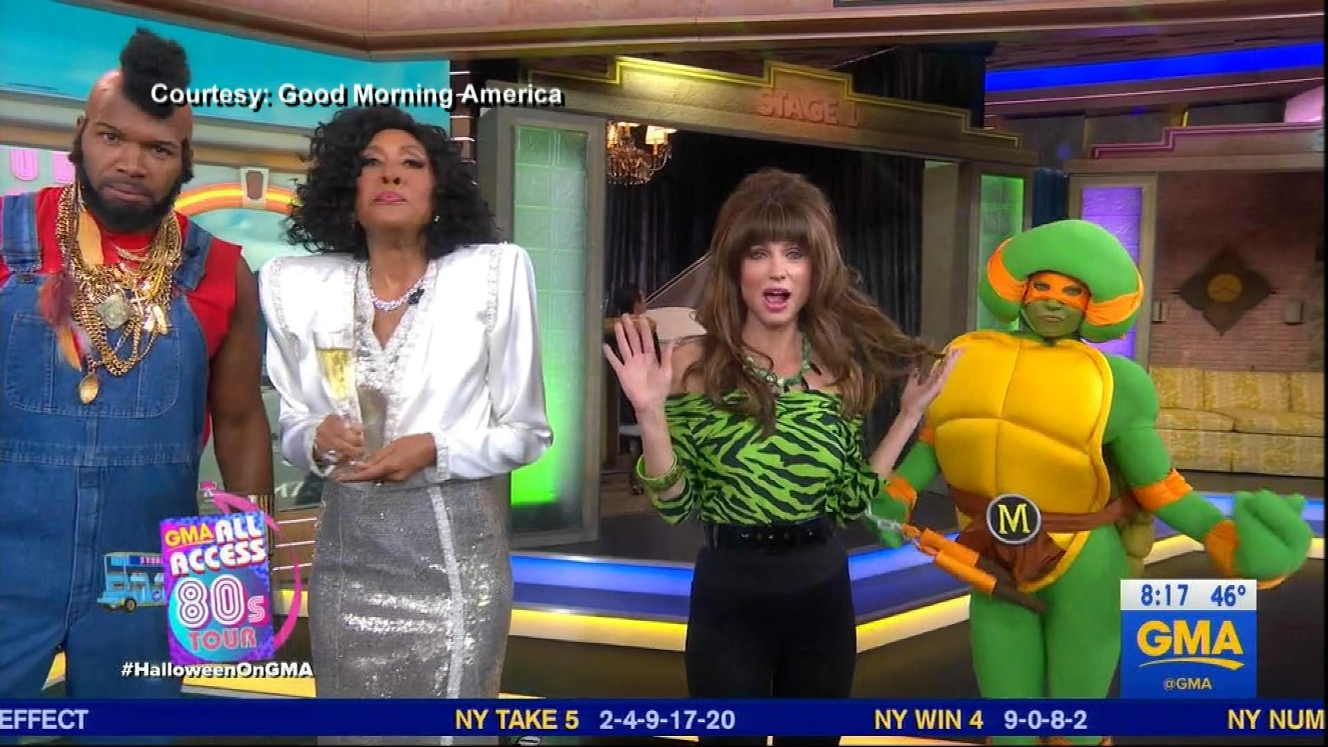 GMA' and 'Today' Hosts Dress Up as '80s Favorites for