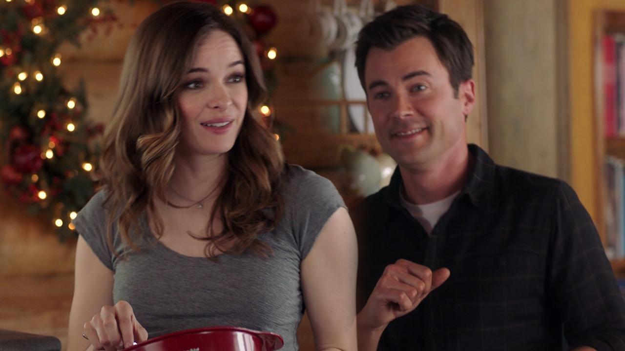Danielle Panabaker and Matt Long Get Flirtatious in