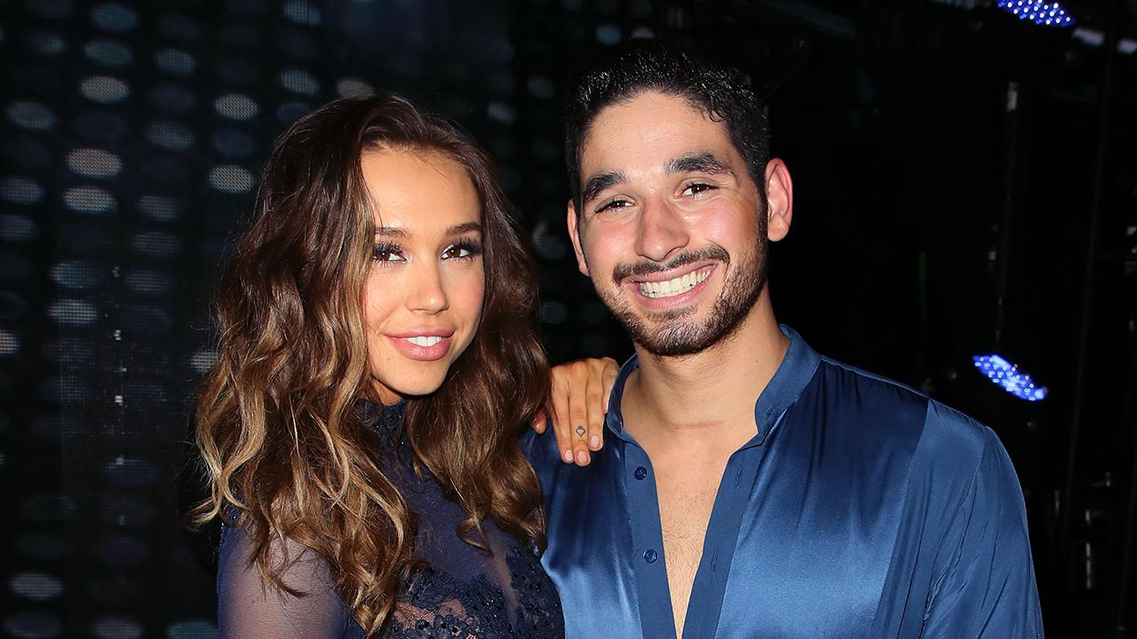 'DWTS': Alan Bersten Shares Update on Relationship With Alexis Ren (Exclusive)