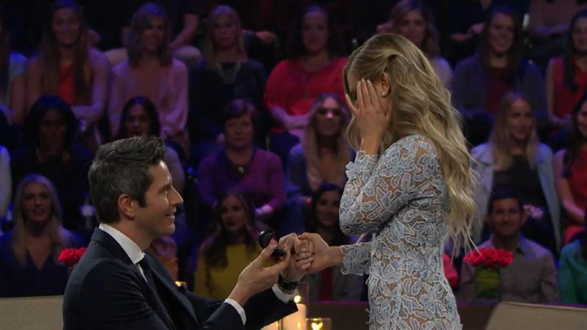 Bachelor Arie Luyendyk Jr And Lauren Burnham Marry In Gorgeous