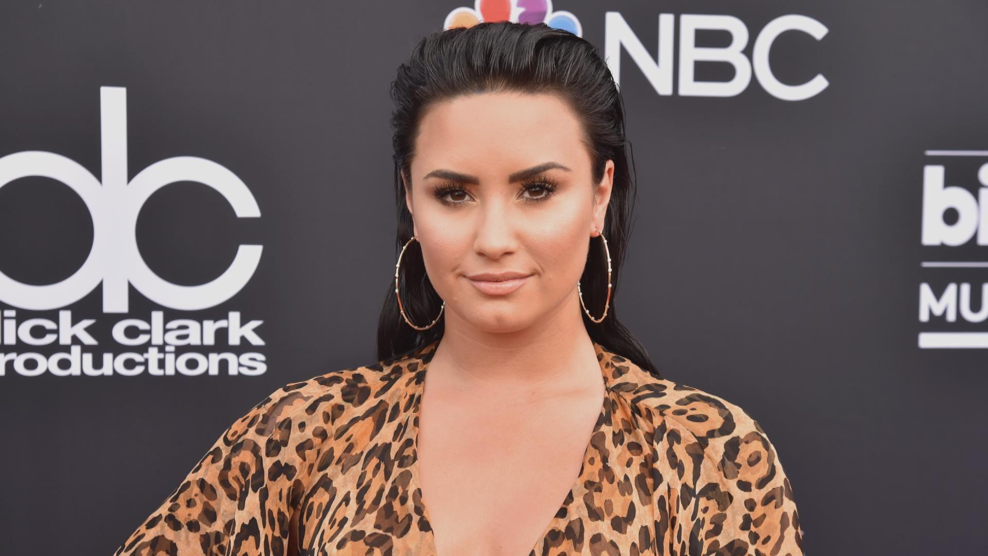 758f028f5 Demi Lovato Is 'Still Sober and Committed to Her Sobriety ...