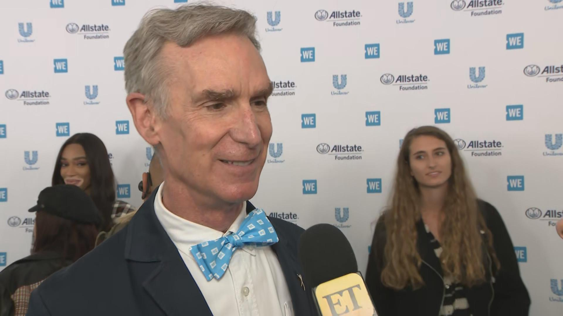 Bill Nye Jokes Fans Should 'Stay Tuned' for Future Project With North West (Exclusive)