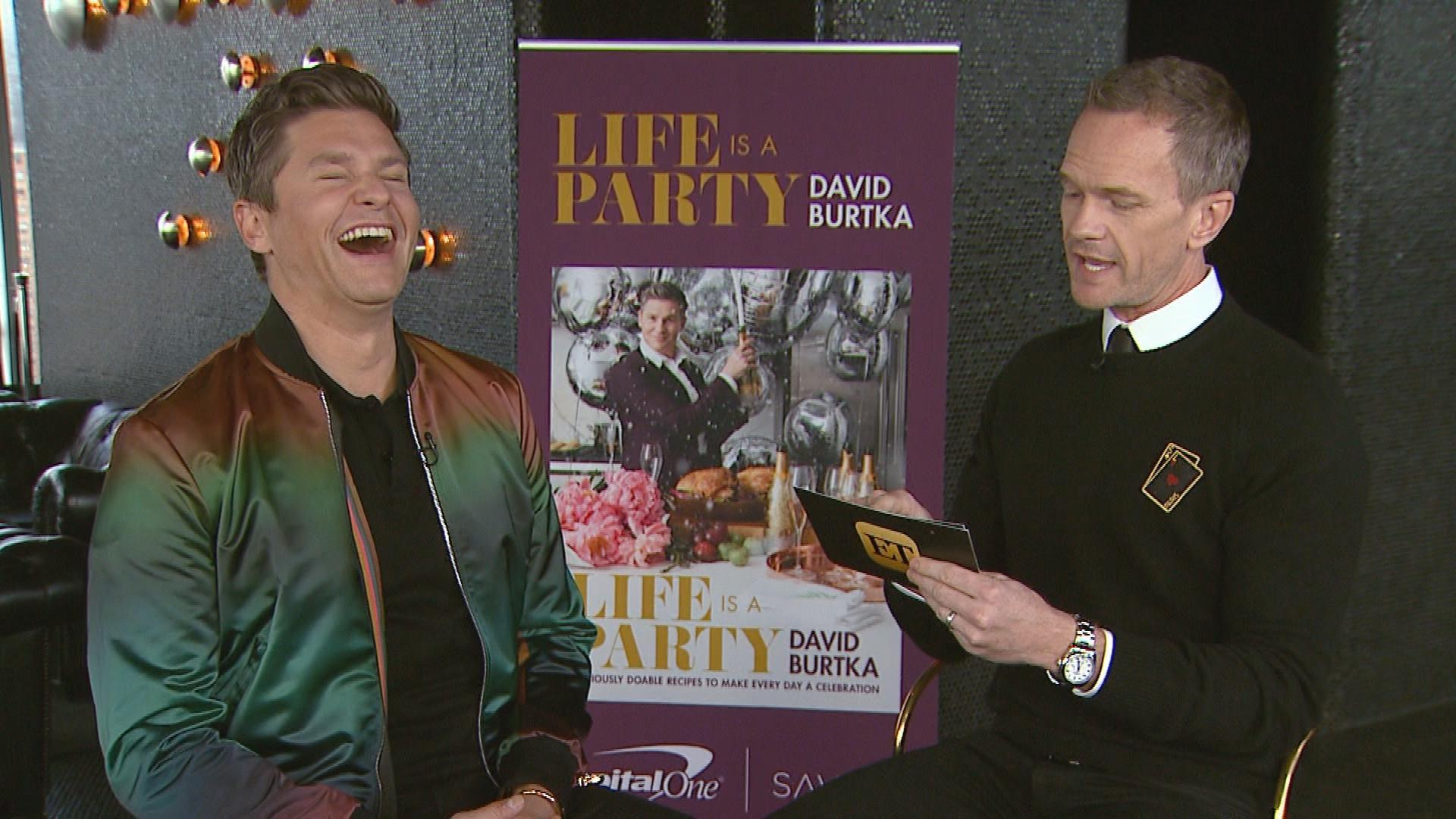Neil Patrick Harris and David Burtka on Their Dream Dinner Guest (Exclusive)