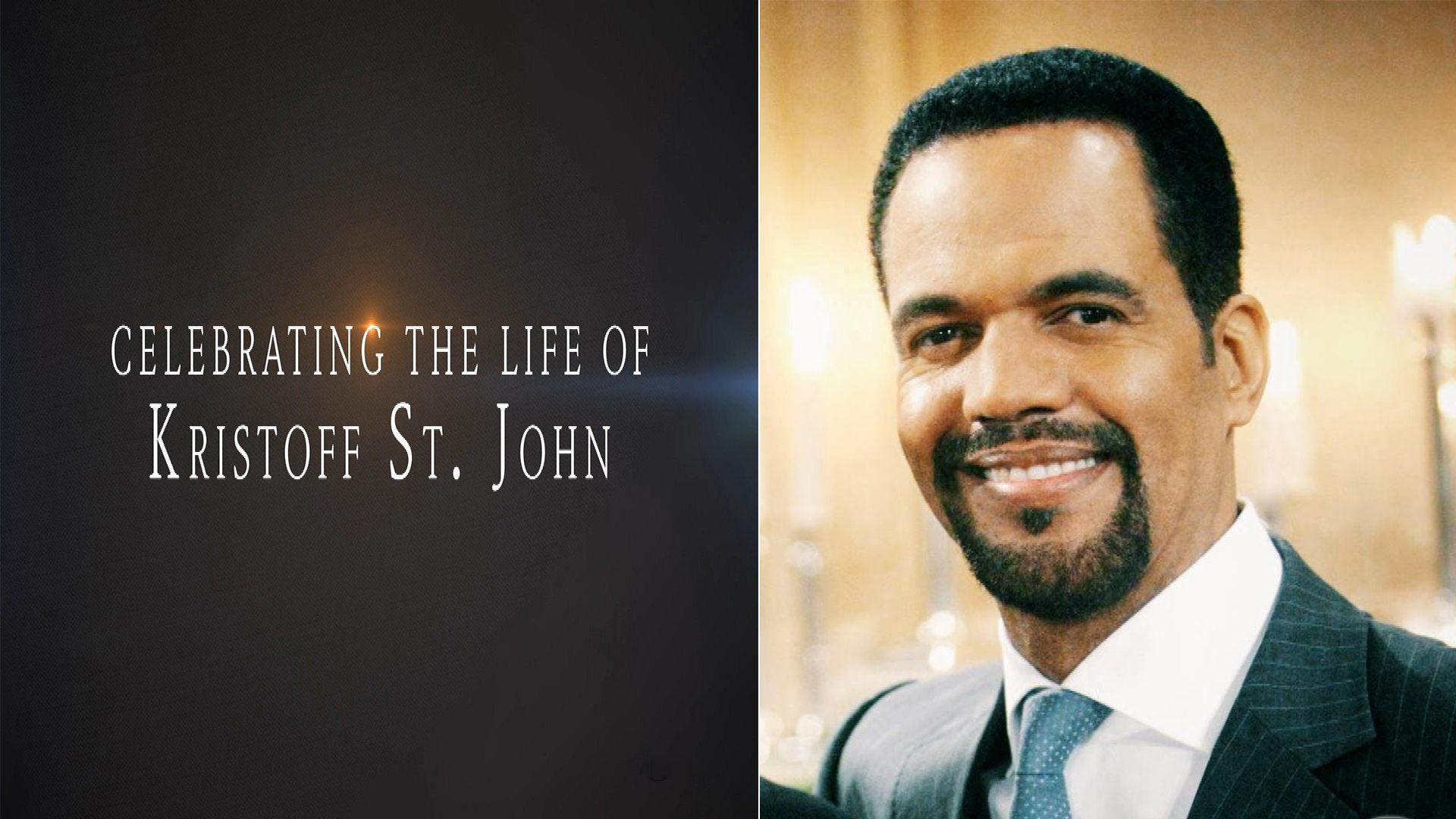 'Young and the Restless' to Air Tribute Episode to Kristoff St. John -- Watch