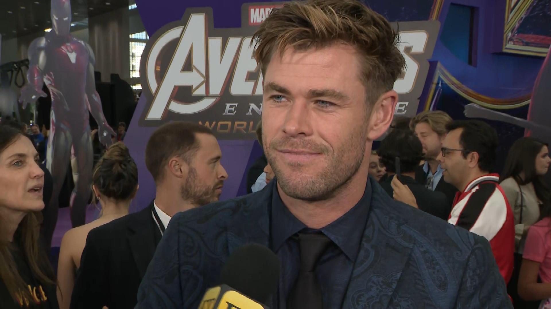 Chris Hemsworth Says The Avengers Endgame Premiere Is