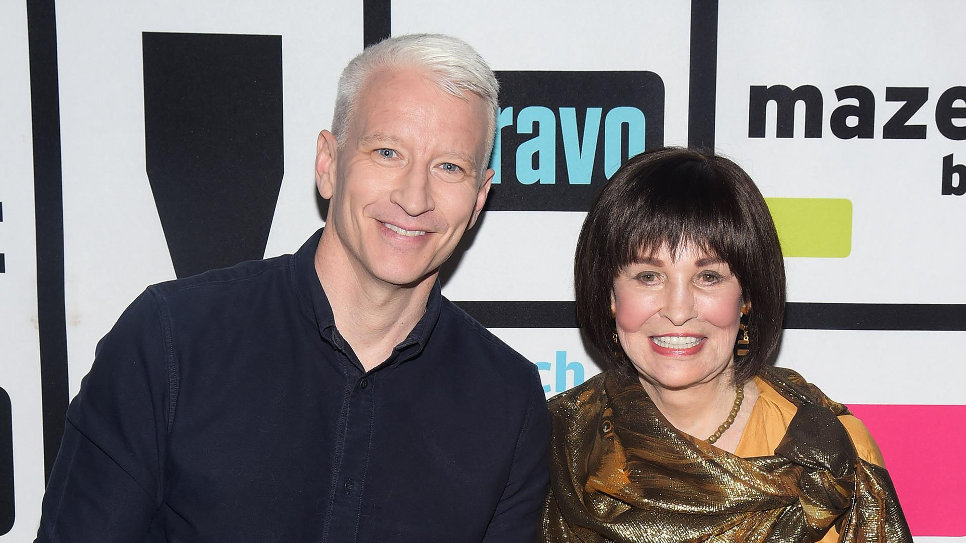 Anderson Cooper Posts Touching Tribute to Mom Gloria Vanderbilt on Instagram