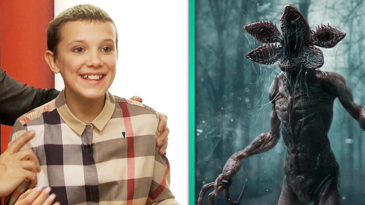 'Stranger Things' Flashback: 12-Year-Old Millie Bobby Brown Adorably Reacts to the Demogorgon! (Exclusive)