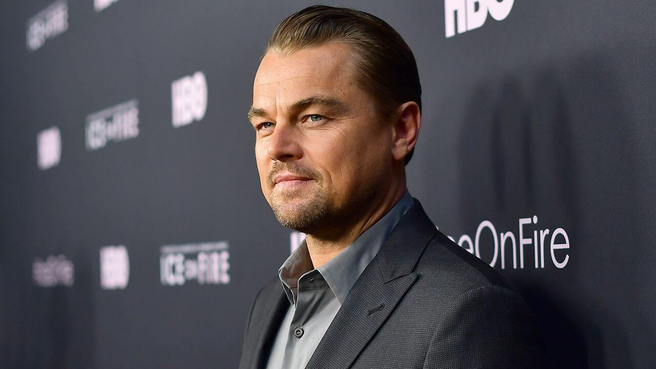 Leonardo DiCaprio's Dad Joins Him at Premiere of Climate Change