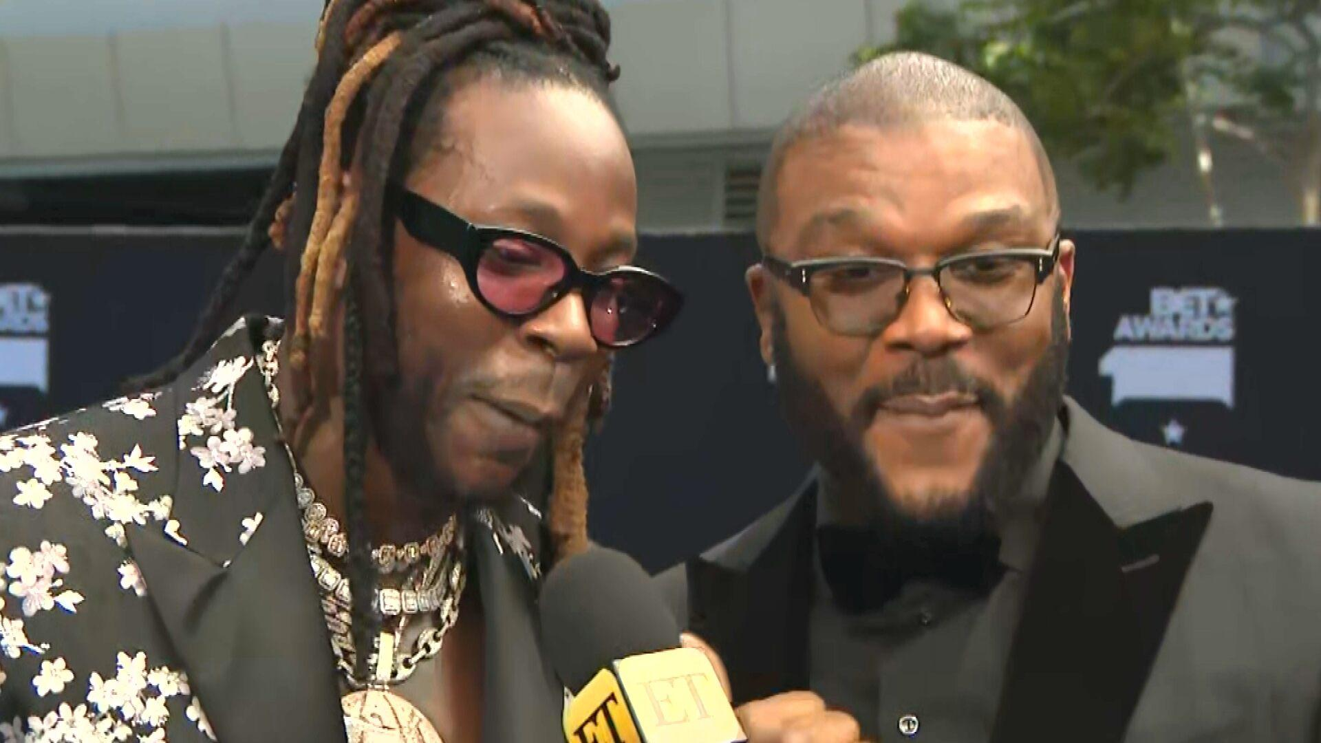 Tyler Perry Accepts Icon Award at 2019 BET Awards: 'I Want to Be an Inspiration'