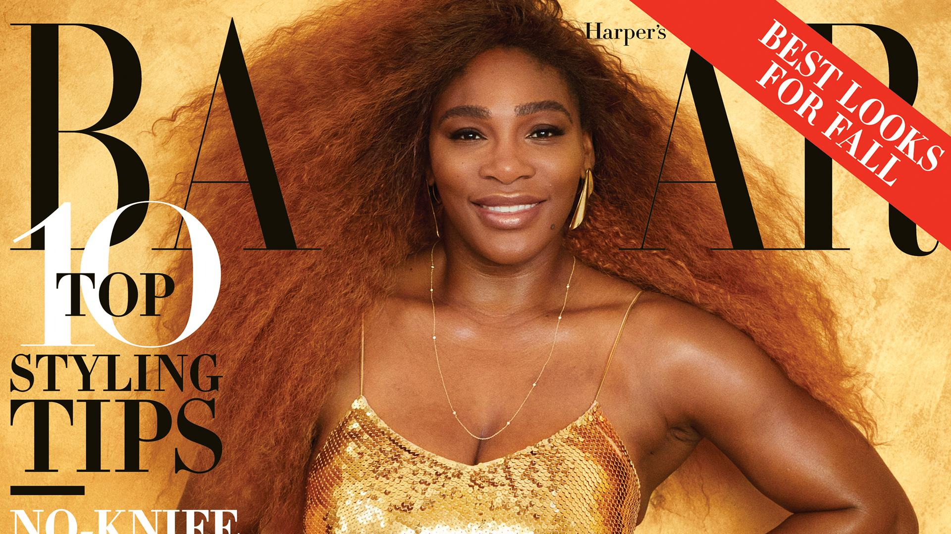 28f361791cc Serena Williams Poses for Unretouched Photos, Addresses U.S. Open ...