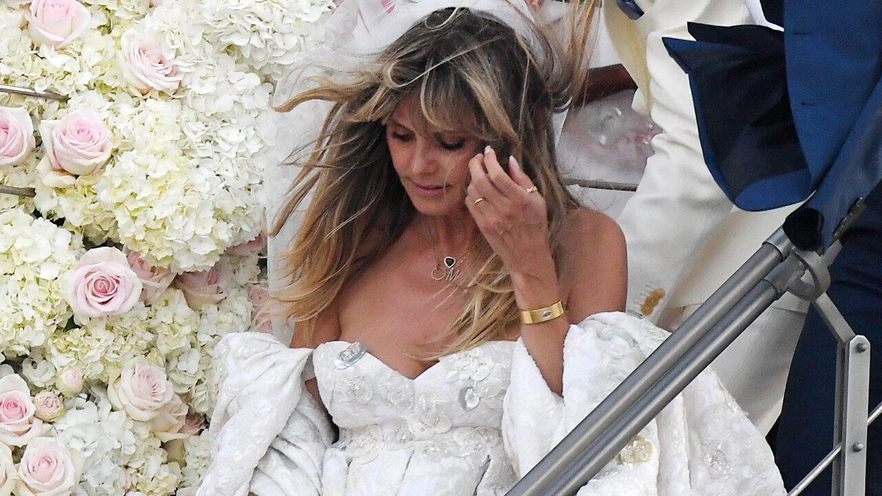 Heidi Klum Packs On Pda With Husband Tom Kaulitz While Celebrating