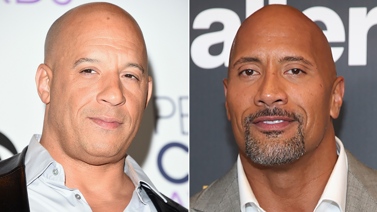 Vin Diesel Says Dwayne Johnson Feud Rumors Were 'Blown Out ...