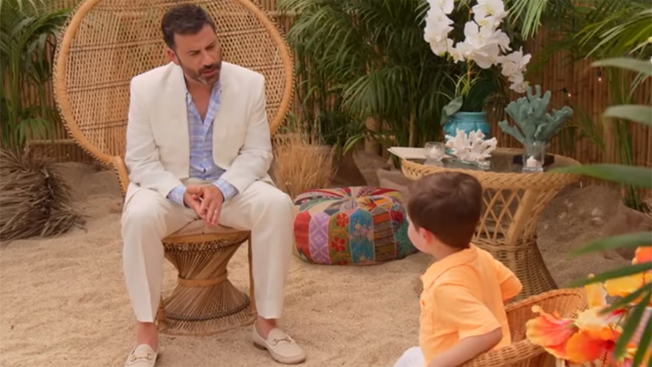 Watch Jimmy Kimmel S Hilarious Baby Bachelor In Paradise