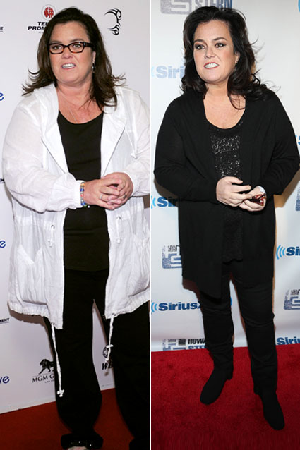 Shocking Celebrity Weight-Loss Transformations