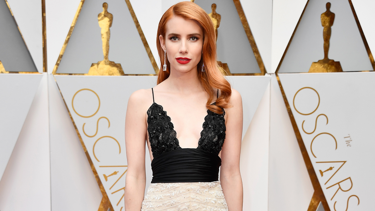 Exclusive Emma Roberts Almost Rips Isabelle Huppert S