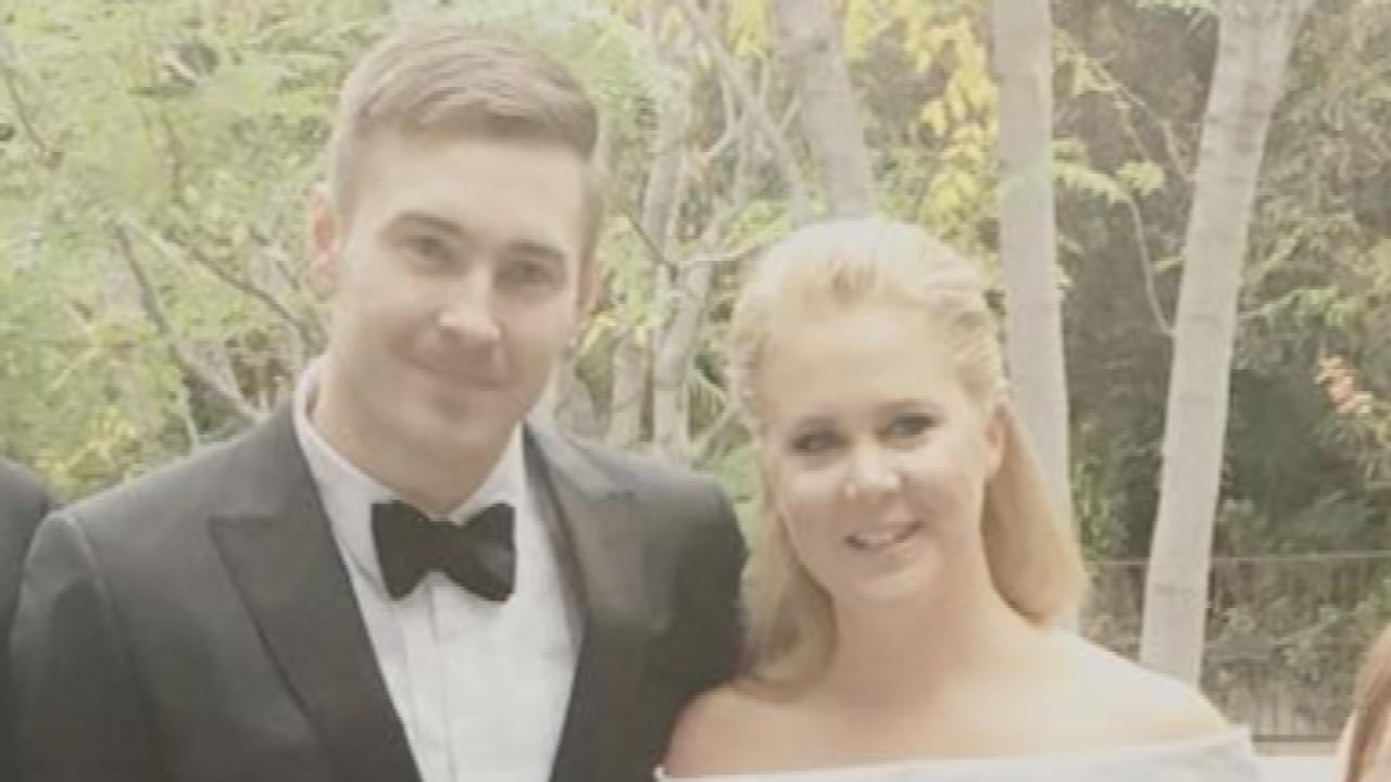 Amy Schumer Posts the Sweetest Pic With Boyfriend Ben Hanisch at Golden Globes After-Party