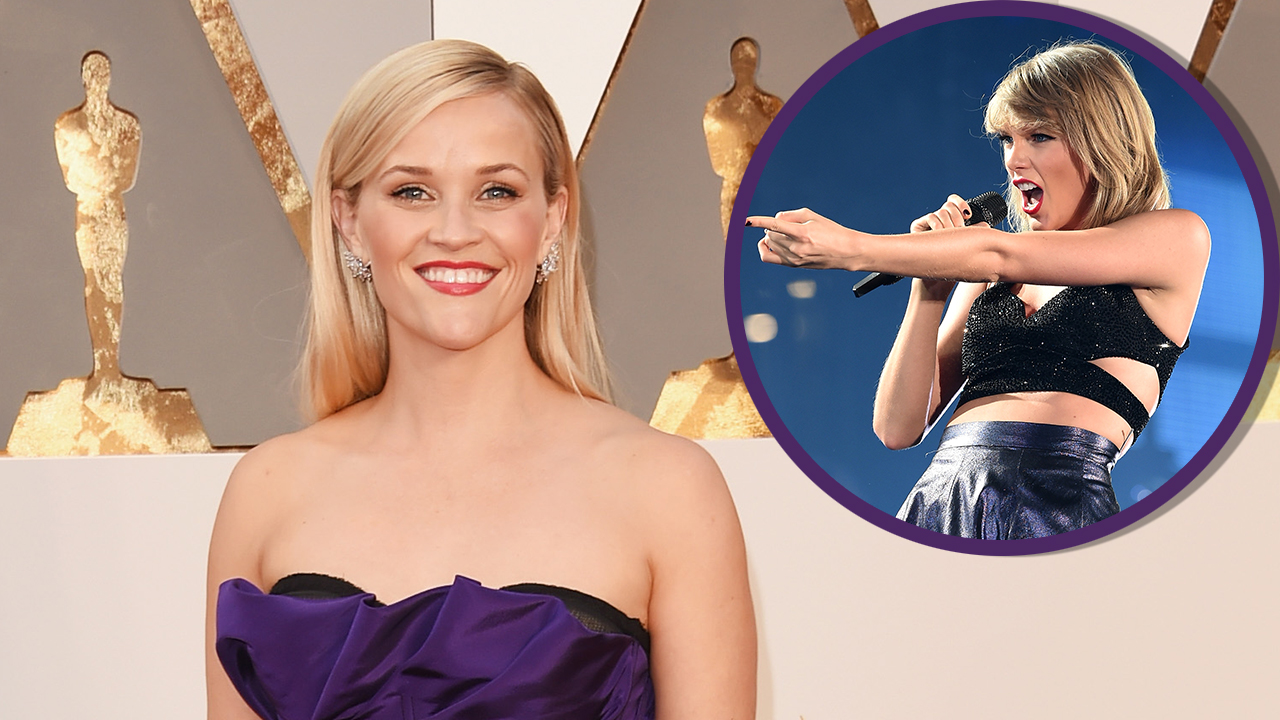 Reese Witherspoon Celebrates Her 40th Birthday With a Private Concert From Taylor Swift