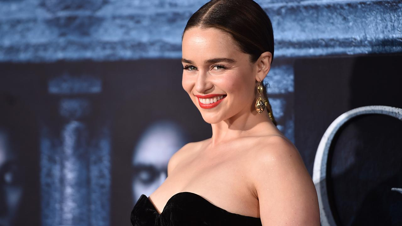 Emilia Clarke Talks Lack of Male Nudity on 'Game of Thrones,' Says Khal Drogo's Member Is 'Too Fabulous'