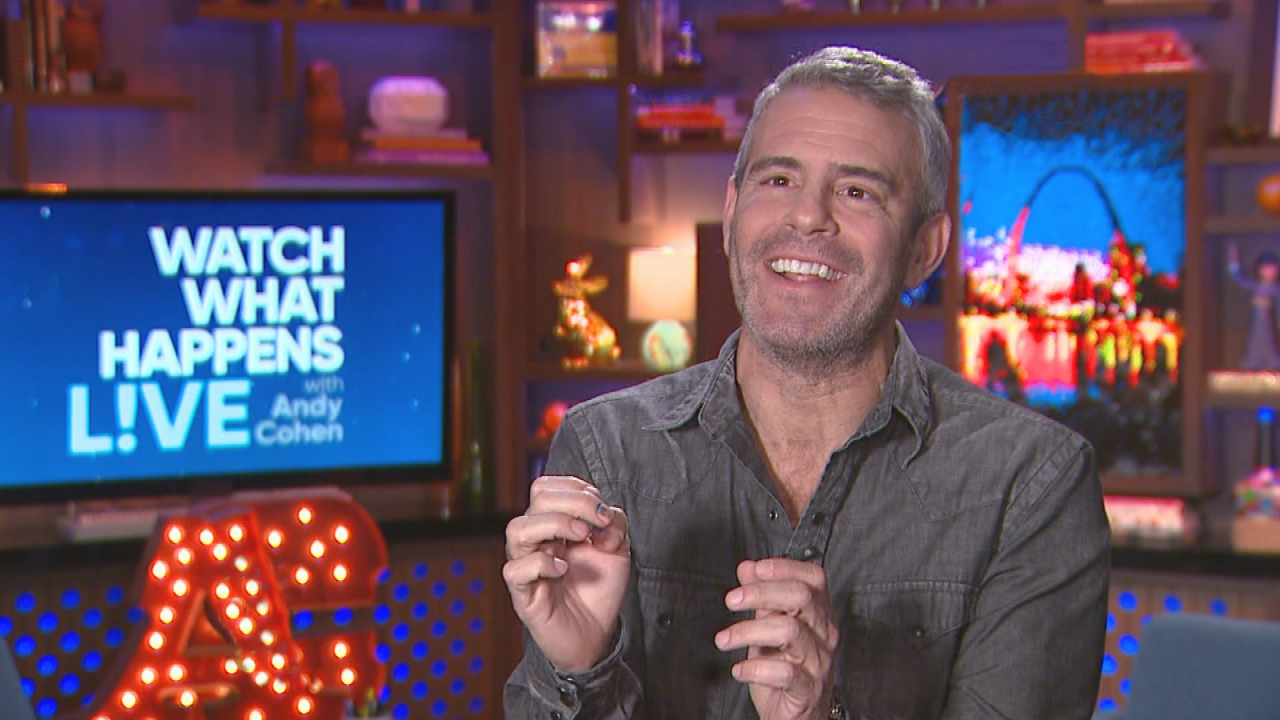 EXCLUSIVE: ET Tours Andy Cohen's New 'Watch What Happens Live' Clubhouse: 'Everything Here Means Something'