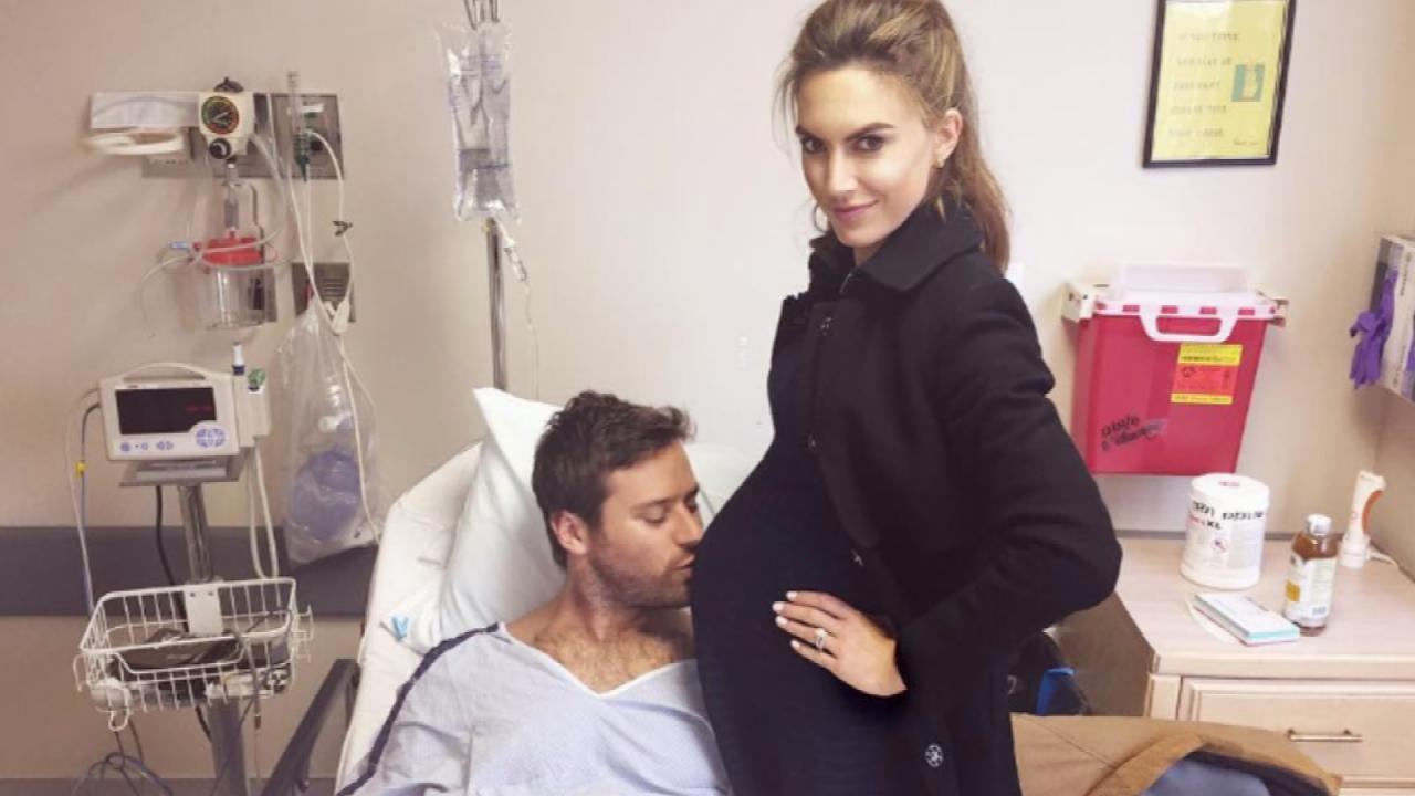 Armie Hammer's Wife Elizabeth Chambers Shares First Photo ...