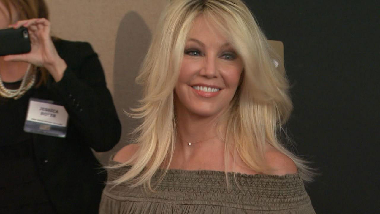 Exclusive Heather Locklear Pokes Fun At Rumored Past Substance