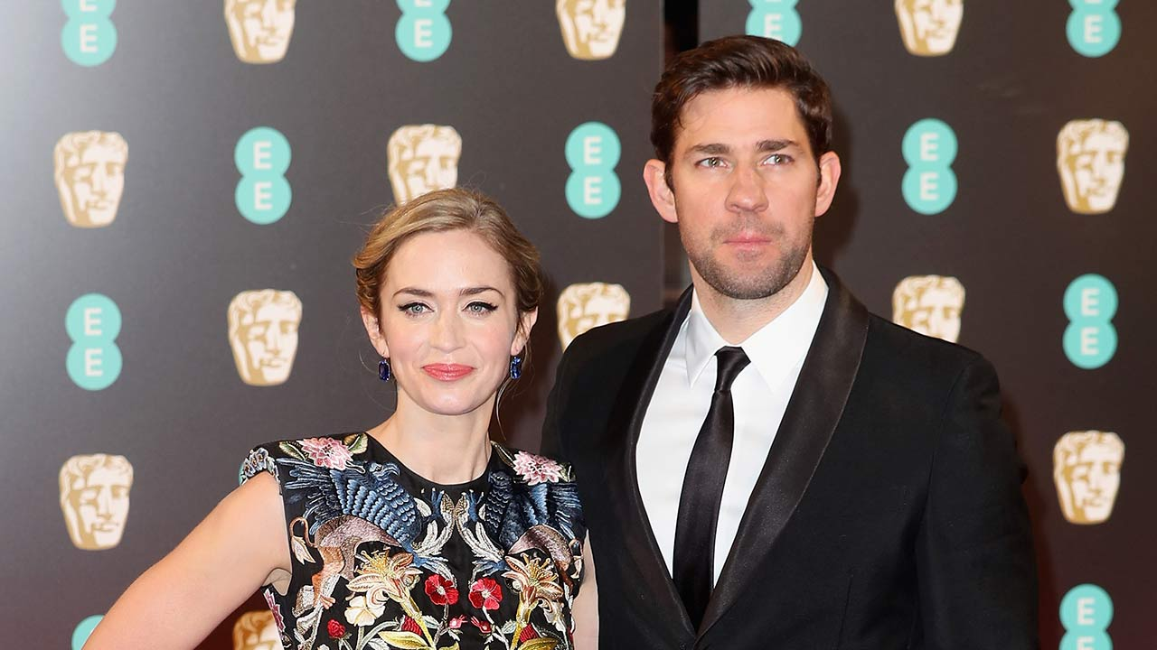 emily blunt and john krasinski to co-star in a movie together fo - cbs news 8