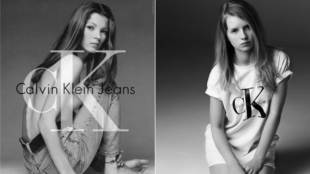 Kate Moss' 16-Year-Old Sister Follows Her Calvin Klein Footsteps