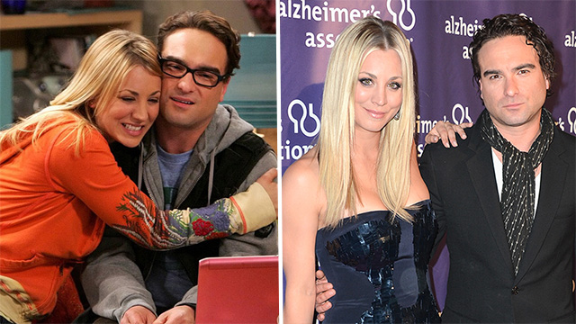 cuoco dating costar johnny galecki and daughter