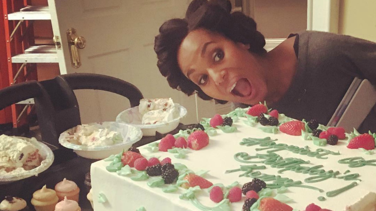Kerry Washington Celebrates Her 40th Birthday With Her