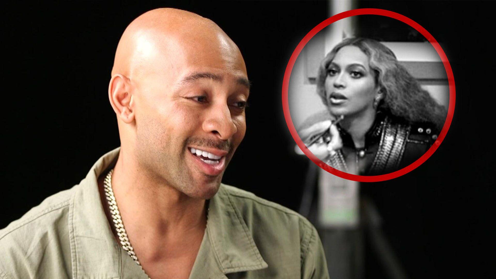 Image result for Beyonce's Makeup Artist Sir John Was Nervous About Her Reaction to 'Lion King' Makeup Collection (Exclusive)